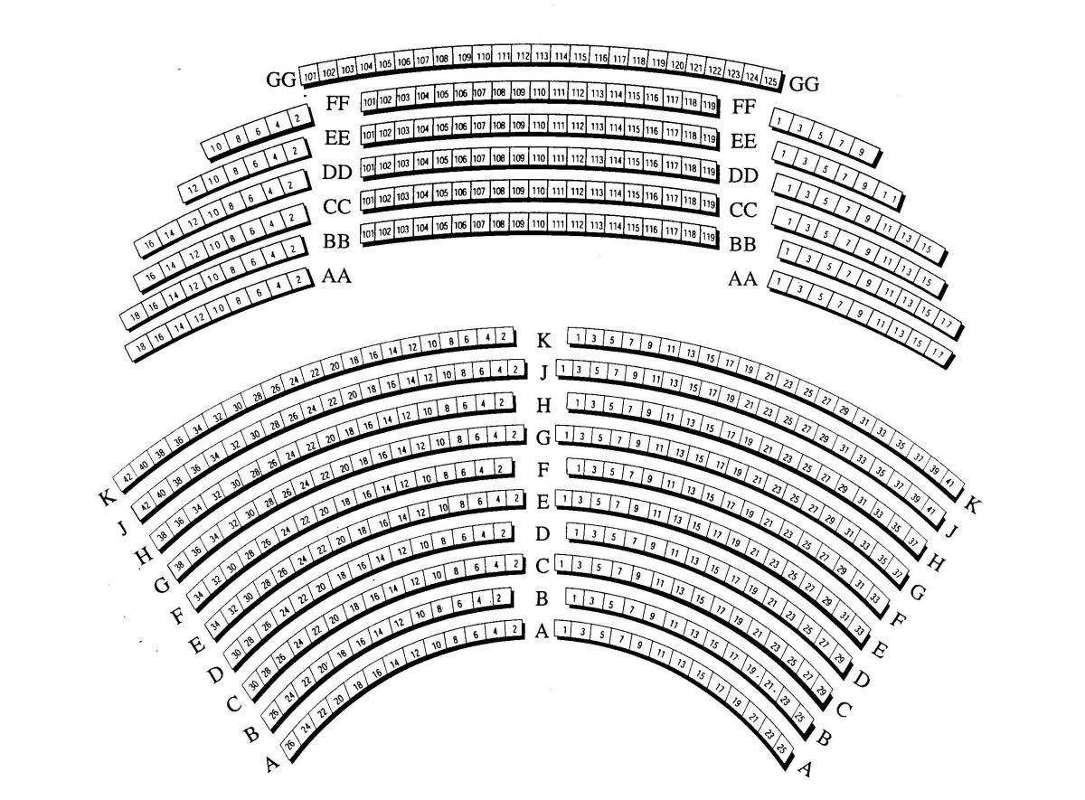 Seating Chart Jewish Community Center Of Greater Baltimore Black Box Theatre Diagram Ucf Charts View The