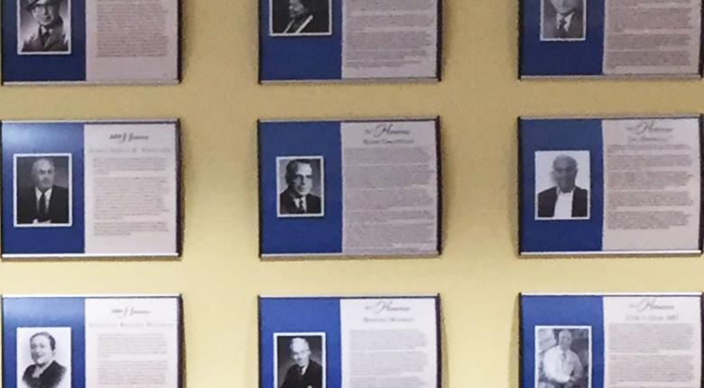 Jewish Hall of Fame Wall
